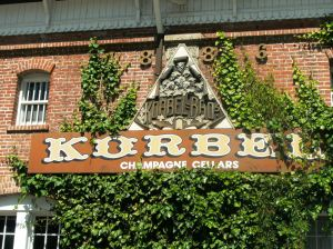 Korbel makes highly acclaimed champagne right in Sonoma County.