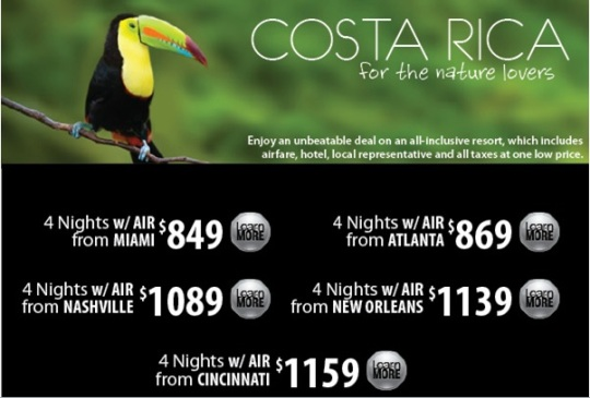 Even if you are flying from other cities, this is a good deal.